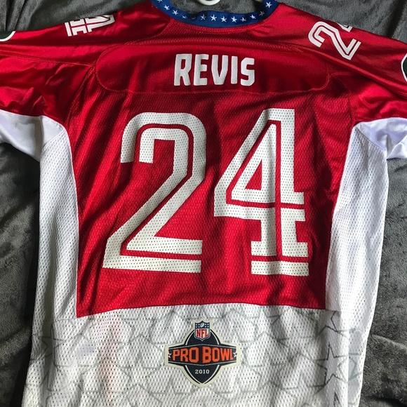 new concept 6e0b0 9b6ec Darrel Revis Mens NFL Pro Bowl Jersey